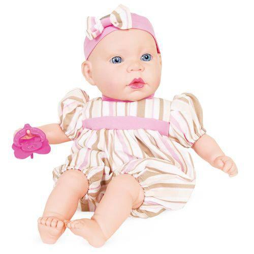 Boneca Life Baby Bebezinho 2169 - Cotiplás