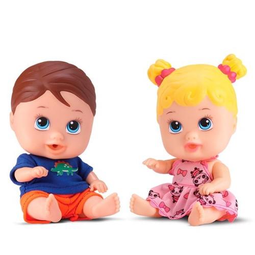 Boneca Little Dolls Gêmeos Divertoys