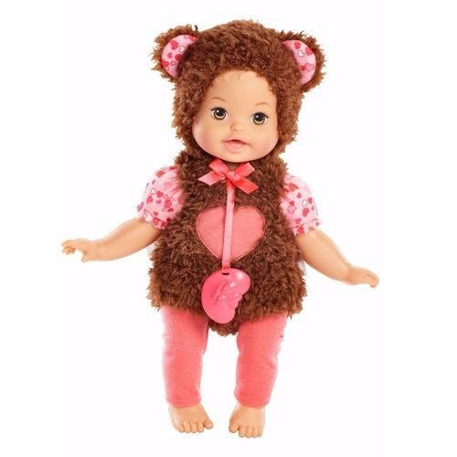 Boneca Little Mommy - Fantasias Fofinhas - Ursinha - Mattel