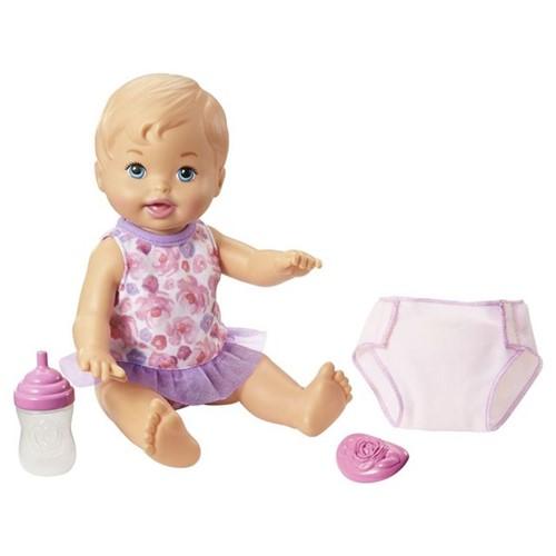 Boneca Little Mommy Faz Xixi Fisher-Price Rosa