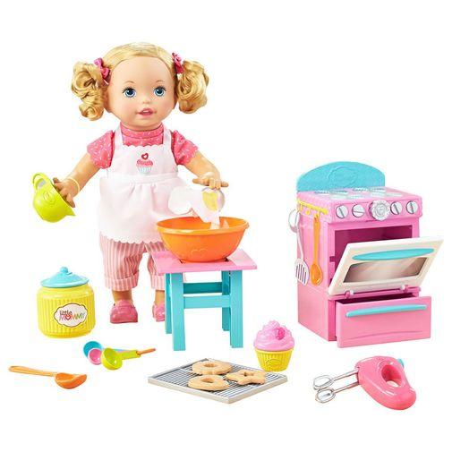 Boneca Little Mommy Pequena Chef - Mattel