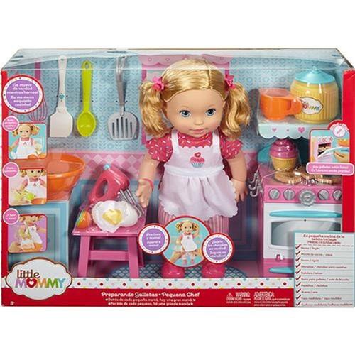 Boneca Little Mommy Pequena Chef MATTEL