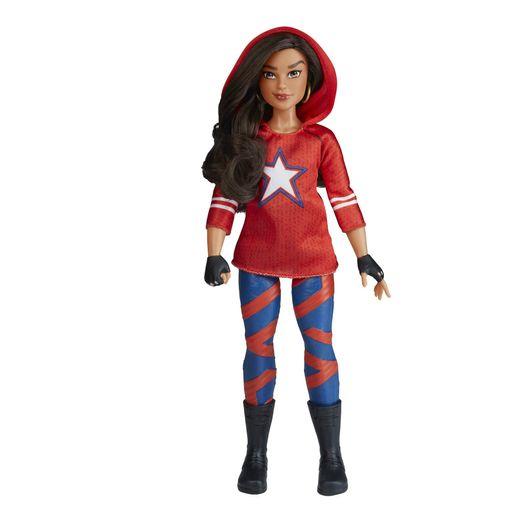 Boneca Marvel Rising Guerreiros Secretos America Chavez - Hasbro