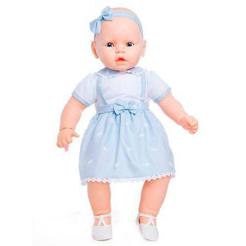Boneca Meu Bebê Vestido Azul - Estrela