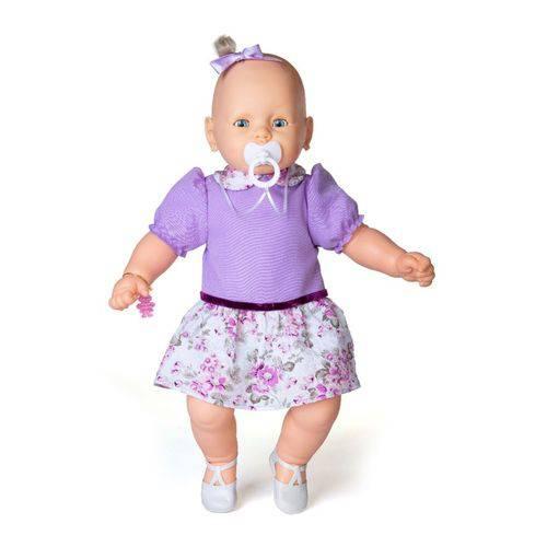 Boneca Meu Bebê Vestido Lilás - Estrela