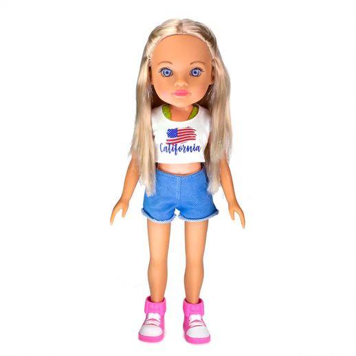 Boneca Meu Mundo Lilly California 37cm - Estrela