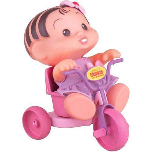 Boneca Mônica com Triciclo Turma da Mônica - 18 Cm - Multibrink
