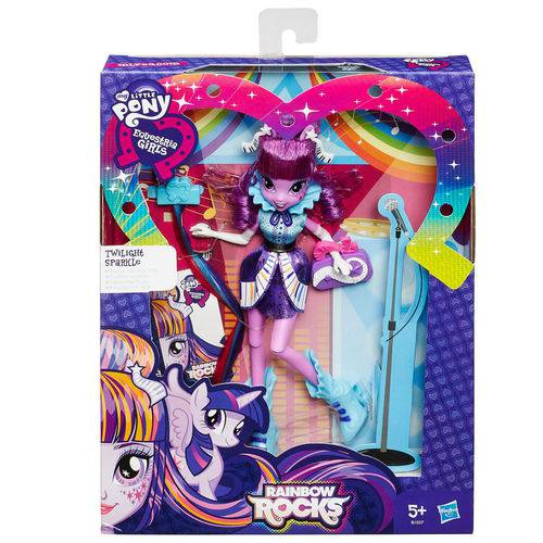 Boneca My Little Pony Girls Rainbow Rocks Hasbro