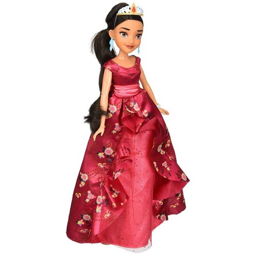 Boneca Princesas Disney - Elena de Avalor - Coroação B7370 - Hasbro - HASBRO