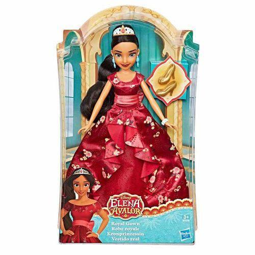 Boneca Princesas Disney Elena de Avalor Vestido Real ¿ Hasbro