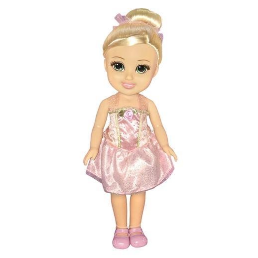 Boneca Sparkle Girlz Bailarina Loira - DTC