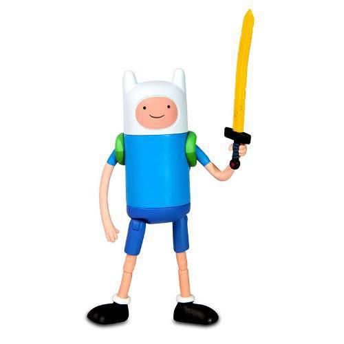 Boneco Adventure Time Finn com Espada