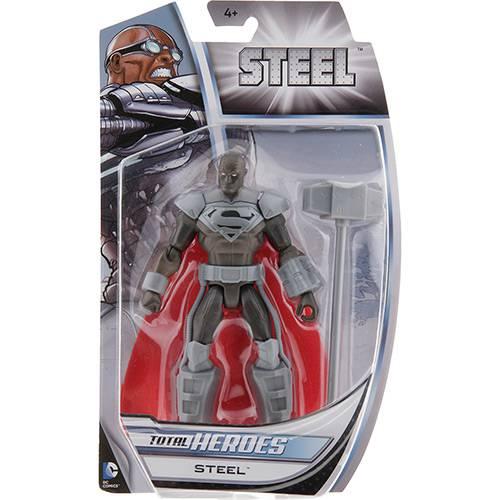Boneco Attack Total Heroes Aço - Mattel