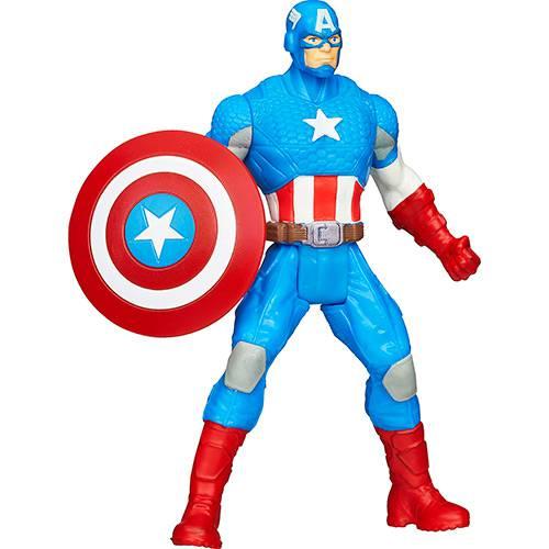 Boneco Avengers All Star Captain América A4432/A4433 - Hasbro