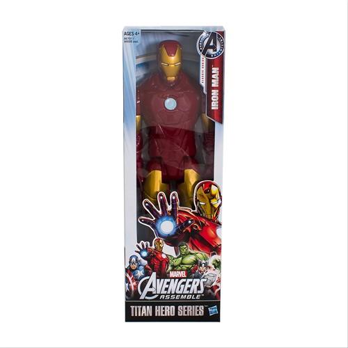 Boneco Avengers Assemble Homem de Ferro Marvel com 1 Unidade