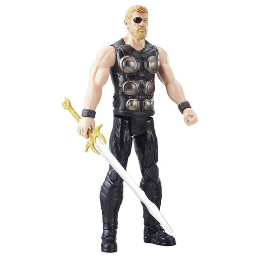 Boneco Avengers Titan Hero Power FX Thor - Hasbro