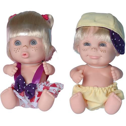 Boneco Babies Twins - Gêmeos - Candide