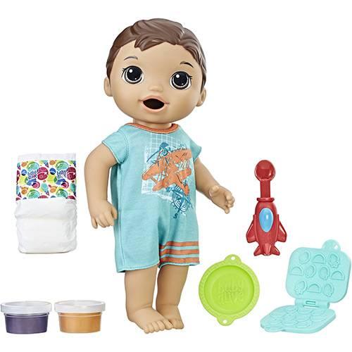 Boneco Baby Alive Primeiro Filho Moreno - Hasbro