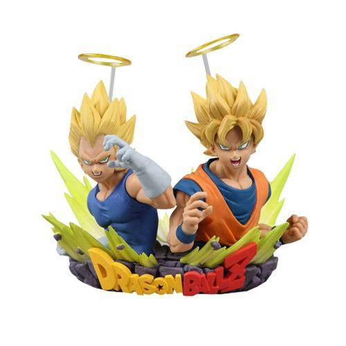 Boneco Bandai Dragon Ball Goku + Vegeta - Volume 2 - Original