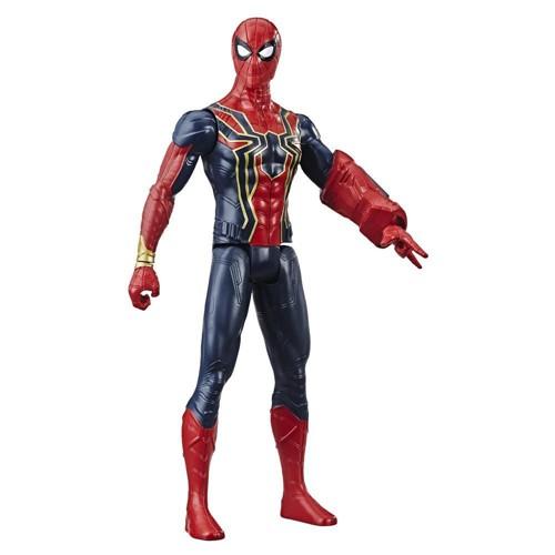 Boneco Basico Avengers Serie Titan Hero - Aranha de Ferro
