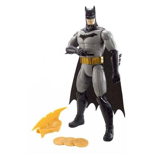Boneco Batman Ataque dos Discos FVM67 Mattel Preto
