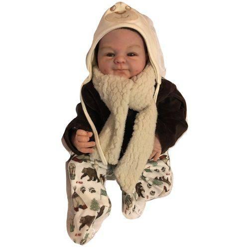 Boneco Bebê Reborn Angel Menino