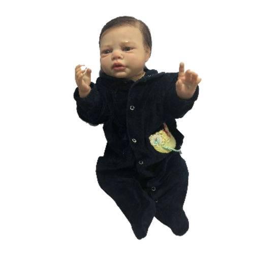 Boneco Bebê Reborn Pietro com Corpo Inteiro