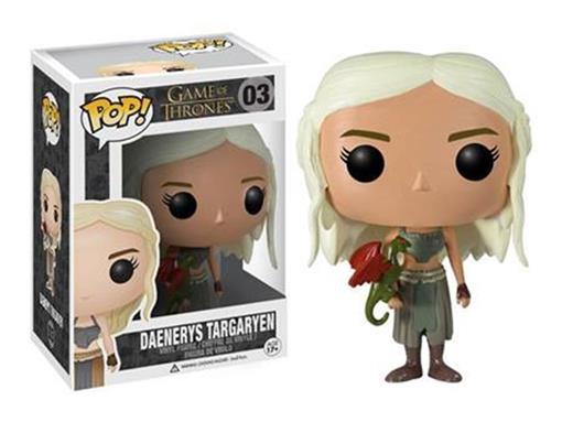 Boneco Daenerys Targaryen - Game Of Thrones - Pop! 03 - Funko 03012