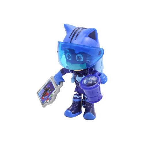 Boneco de Ação - 9 Cm - PJ Masks - Heróis da Aventura Lunar - Menino Gato - Dtc