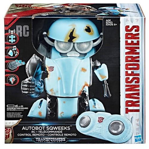 Boneco de Controle Remoto - Transformers - o Ultimo Cavaleiro - Robo Autobot Sqweeks HASBRO