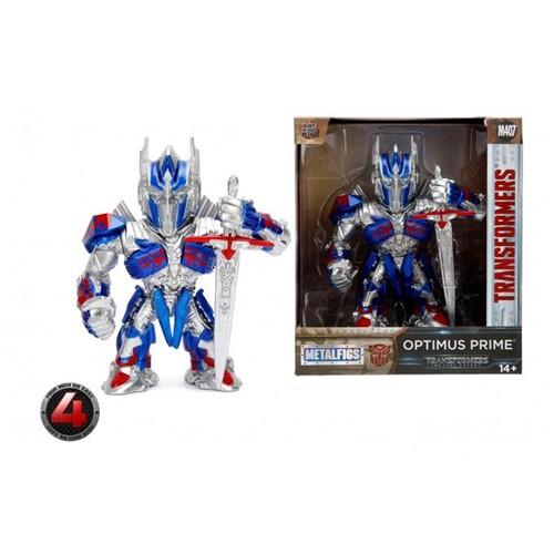 Boneco de Metal Transformers - Optimus Prime 10cm - Jada Toys - Dtc - DTC
