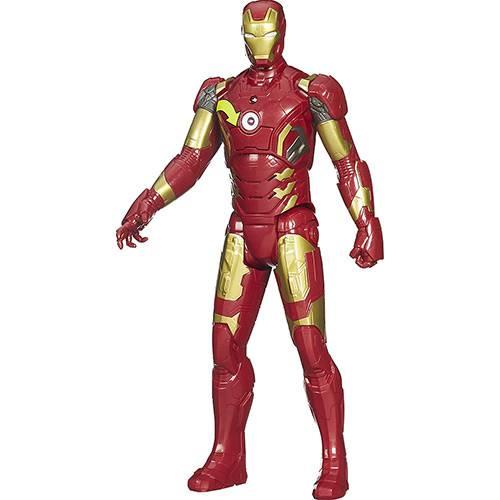 Boneco Eletrônico Avengers Iron Man Titan Hero - Hasbro