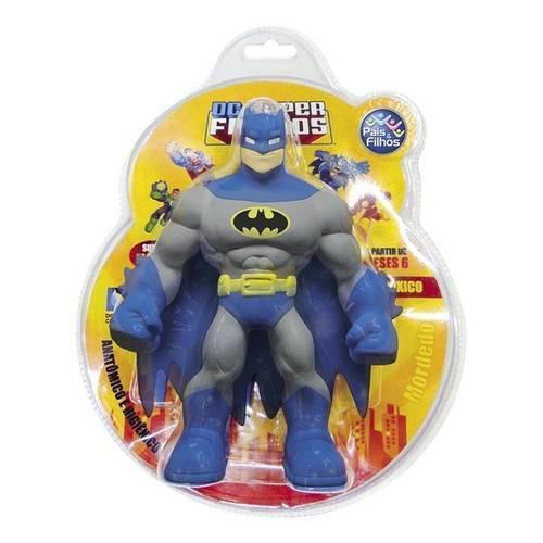 Boneco em Vinil Mordedor Super Friends - Batman
