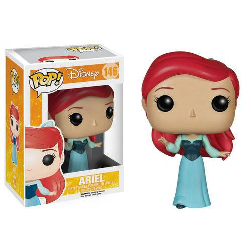 Boneco Funko Pop Disney a Pequena Sereia Ariel 146