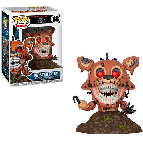 Boneco Funko Pop Five Nights At Freddys - Twisted Foxy