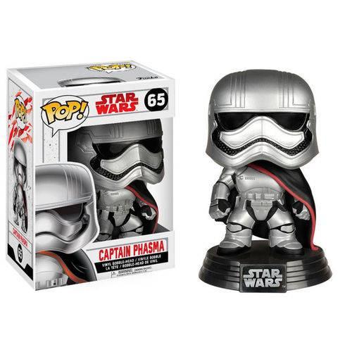 Boneco Funko Pop Star Wars 8 Captain Phasma 65
