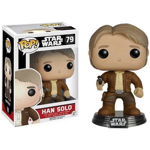 Boneco Funko Pop Star Wars Han Solo 79