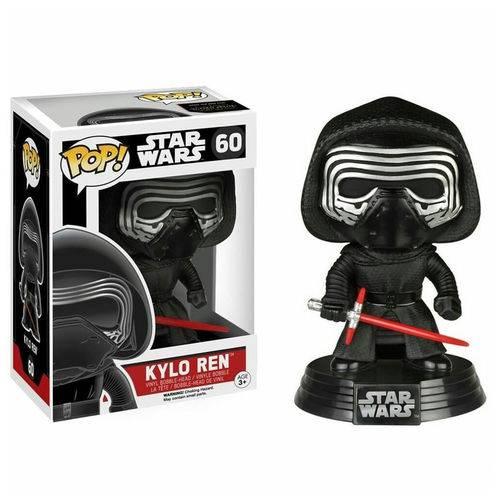 Boneco Funko Pop Star Wars Kylo Ren 60