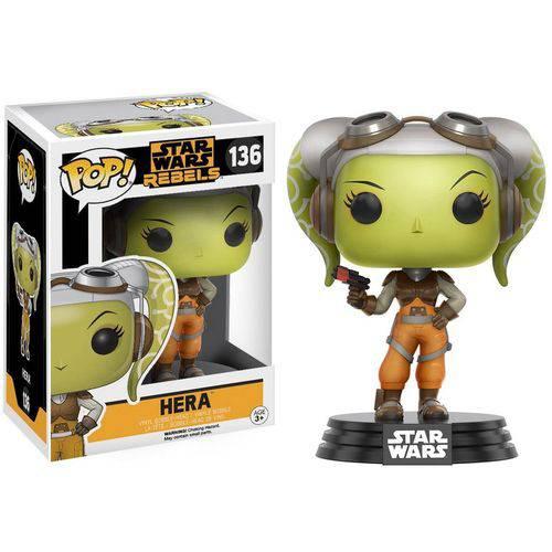 Boneco Funko Pop Star Wars Rebels - Hera