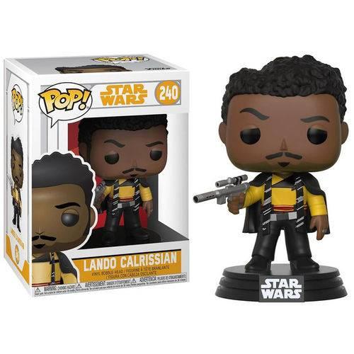 Boneco Funko Pop Star Wars Solo Lando Calrissian 240