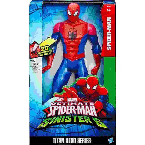 Boneco Homem Aranha Eletronico Titan Hasbro