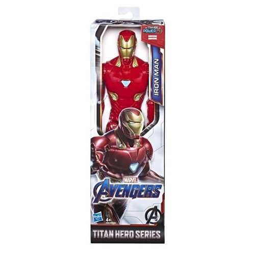 Boneco Homem de Ferro Titan Hero Series Avengers E3918 - HASBRO