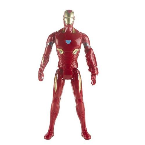 Boneco Homem de Ferro Vingadores Titan Hero 2.0 Hasbro Vermelho