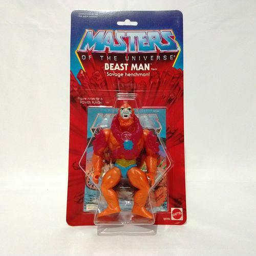 Boneco Homem Fera Coleção He-man da Mattel Ano de 2000 Raro