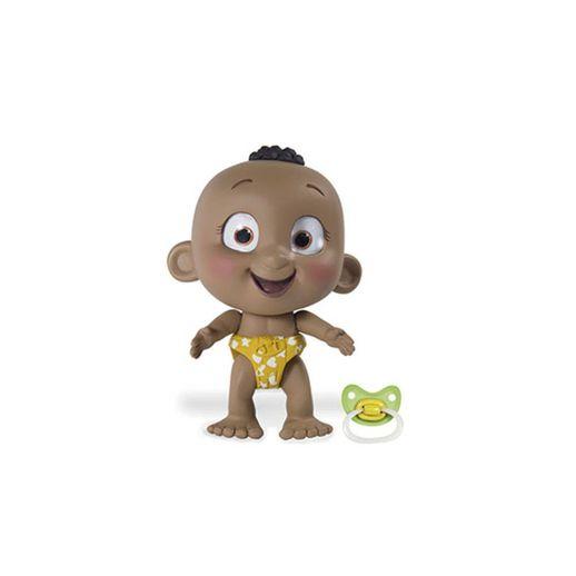 Boneco Interativo Tiny Tots Fralda Amarelo - Candide