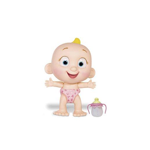 Boneco Interativo Tiny Tots Fralda Rosa - Candide
