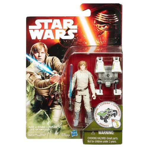Boneco Jungle - Star Wars - Episodio VII - Luke Skywalker HASBRO