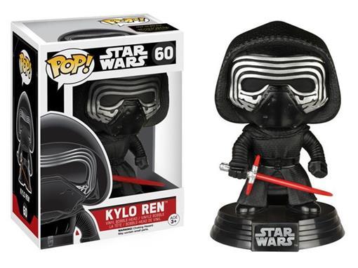 Boneco Kylo Ren Star Wars Pop! 60 - Funko - Minimundi.com.br