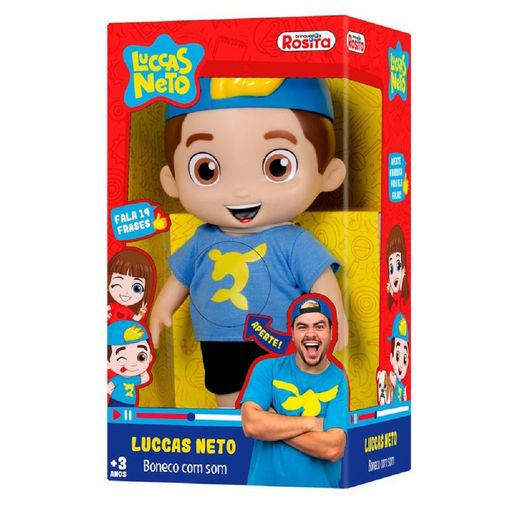 Boneco Luccas Neto com Som - Rosita