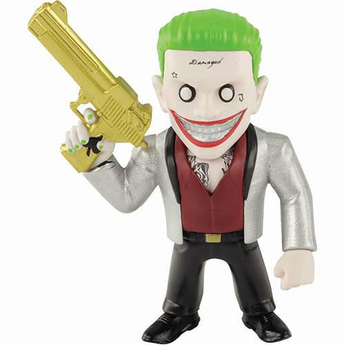 "Boneco Metals Figure 4"" Suicide Squad Movie - The Joker Boss- Dtc"